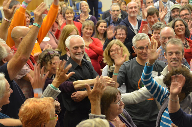 2015 Transition Network Conference faces - photo Mike Grenville