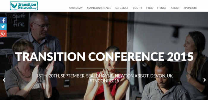 Conference microsite