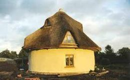 Marcus and Kate McCabe's strawbale house, Clones, Co.Monaghan.