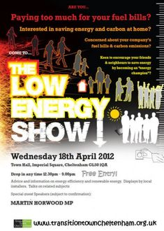 Flyer - Low Energy Show - TTCheltenham