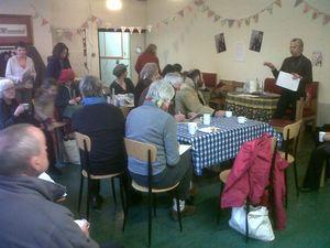 Anita's workshop Seedy Saturday 2013
