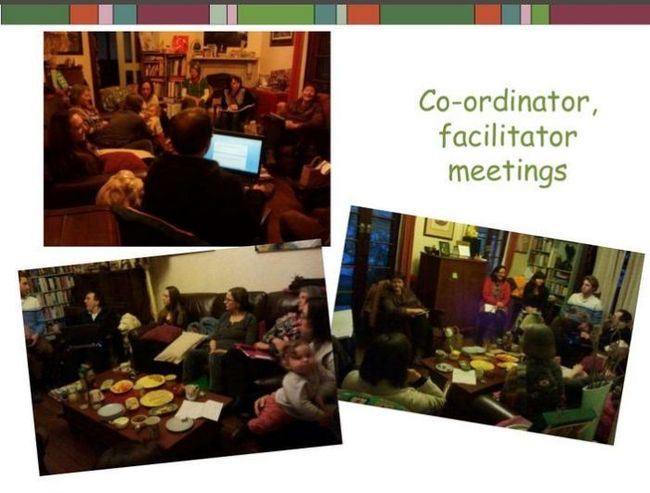 These things don't just run by themselves!  The co-ordinating group, from the TS Challenge slideshow (see below).