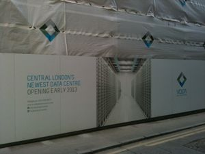Server farm being built in Clerkenwell, London
