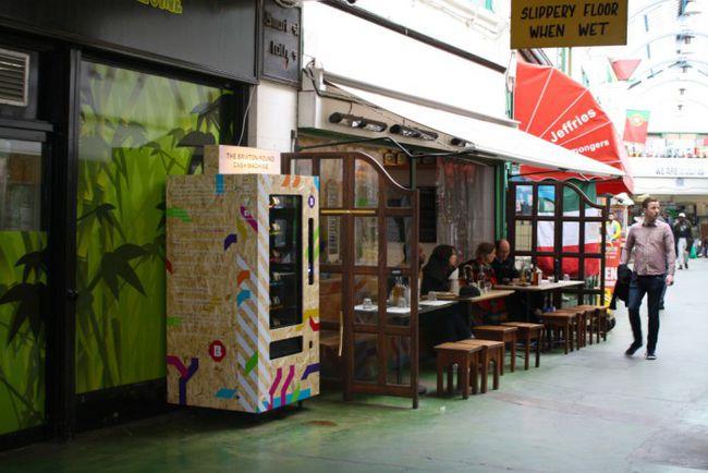 The Brixton Pound cash machine.