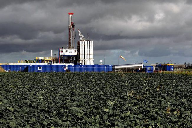 Cuadrilla's fracking facility near Preston, Lancashire.
