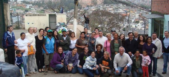 A Transition Training in Brasilandia, Sao Paolo, Brazil.