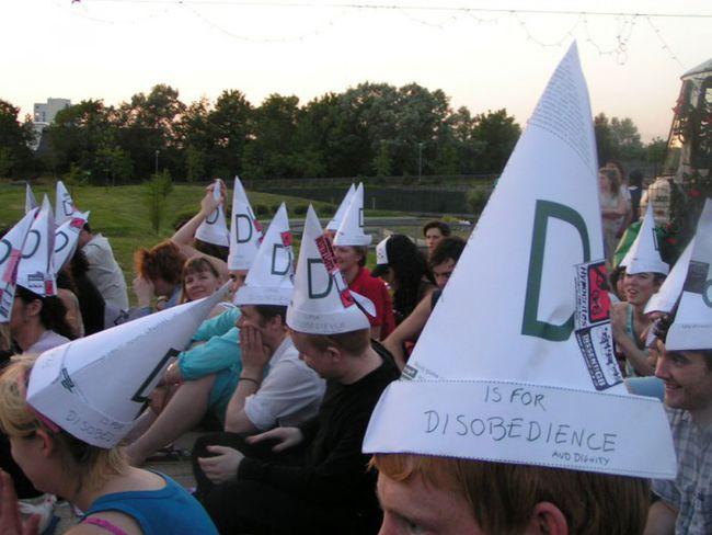 """Radical Origami Hats""."