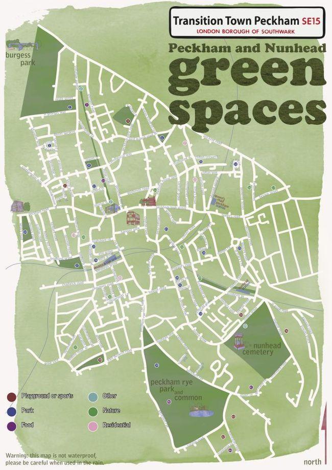 Peckham map