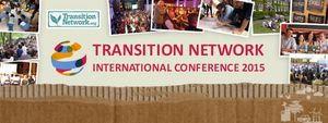 Transition conference banner
