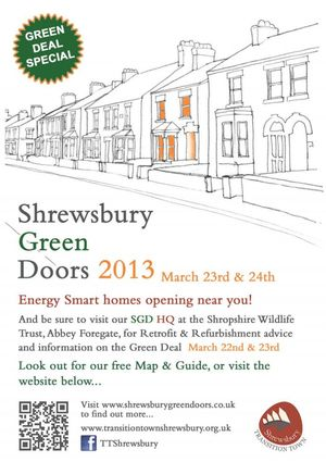 Shrewsbury Green Doors