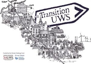 Transition University of West Scotland logo