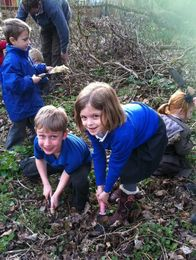 Nature Club at Nayland School