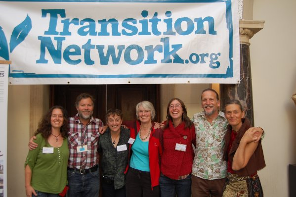 photograph of social reporters at transition conference 2012