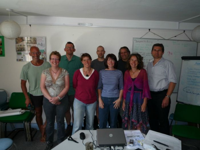 Transition Network staff and board after web project approval
