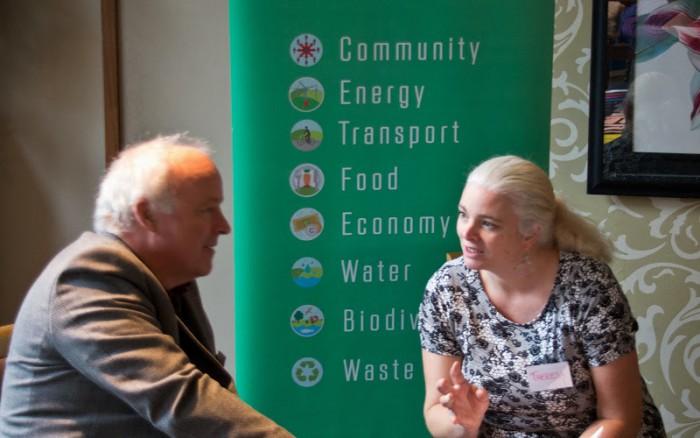 Theresa O'Donohoe (right).
