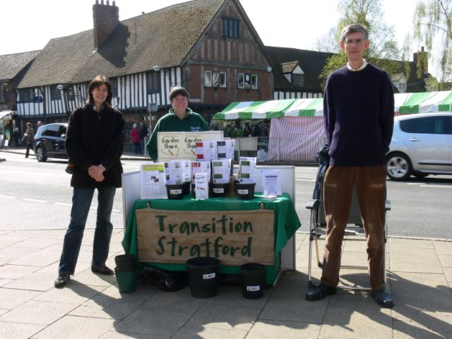 the first of a monthly street stall we ran during summer 2010