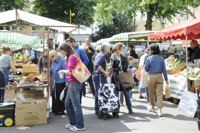 Stoke Newington Farmers Market.