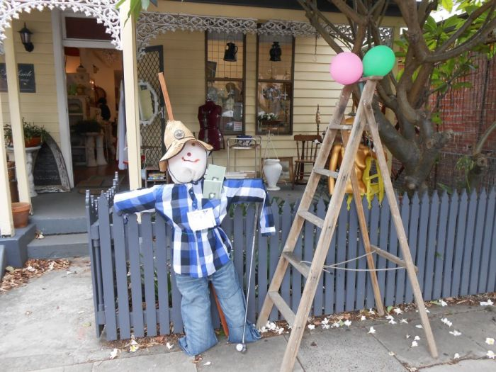 One of the Watson Street scarecrows