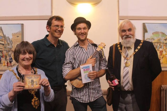 Totnes book launch