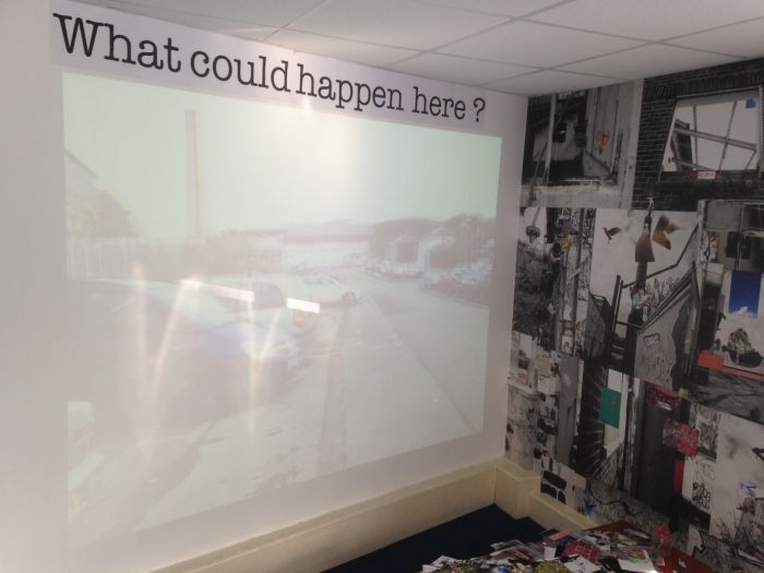 The 'What could happen here?' room.