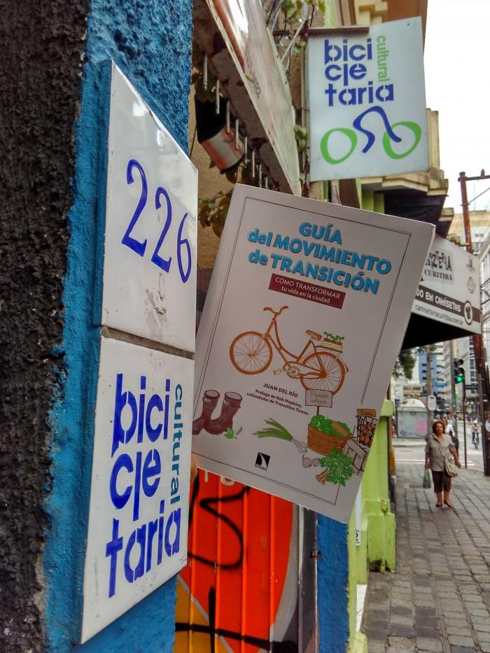 Espacio Bicileteria Cultural de Curitiba. Foto: Juan del Río