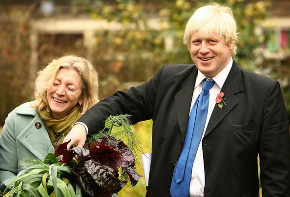 Rosie launching Capital Growth with London Mayor Boris Johnson