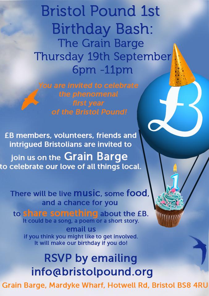 Bristol Pound poster