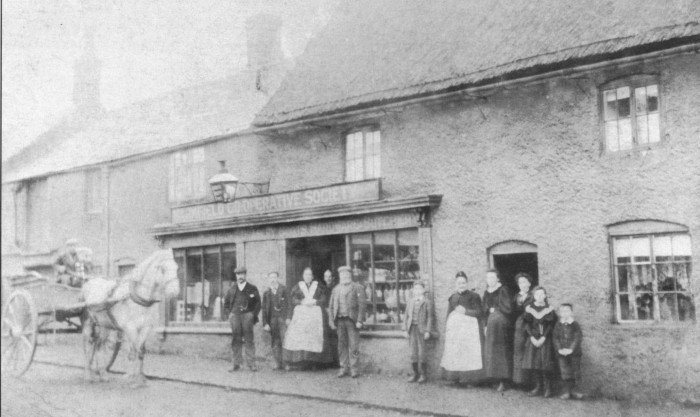 The first Co-operative shop, Rochdale.