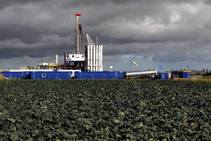 Cuadrilla's fracking facility near Preston, Lancashire.