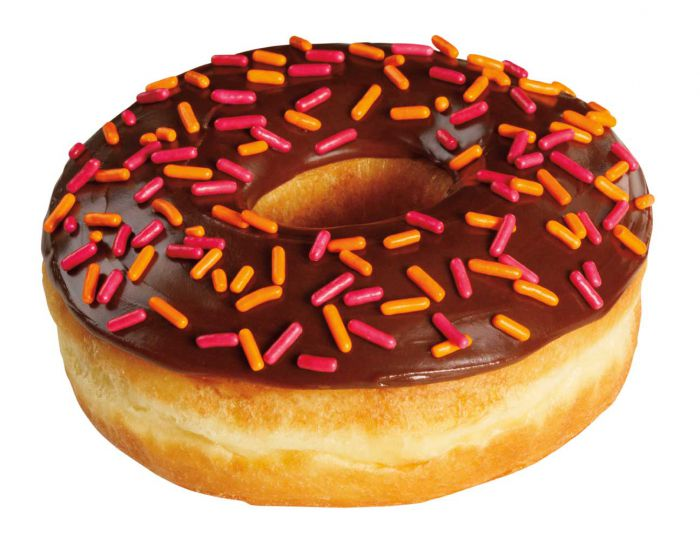 A doughnut.  Not the same at all.