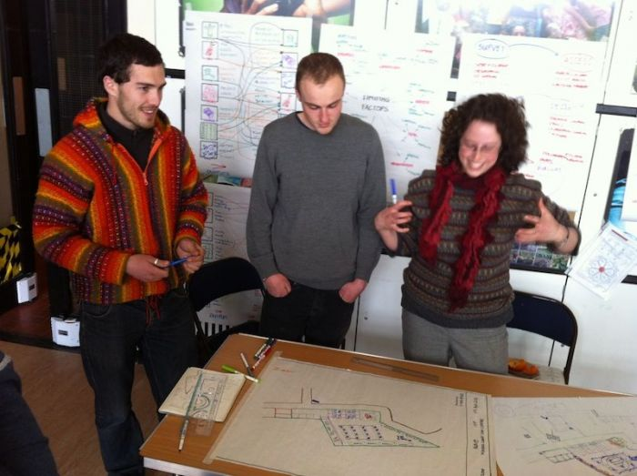 Doing an Introduction to Permaculture course in Camden.