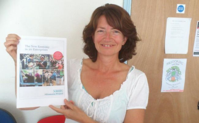 Fiona Ward with The New Economy in 20 Enterprises report
