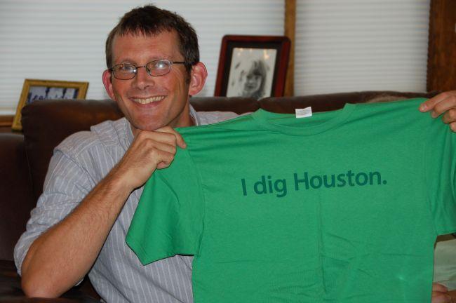 A treasured gift - an Urban Harvest tshirt
