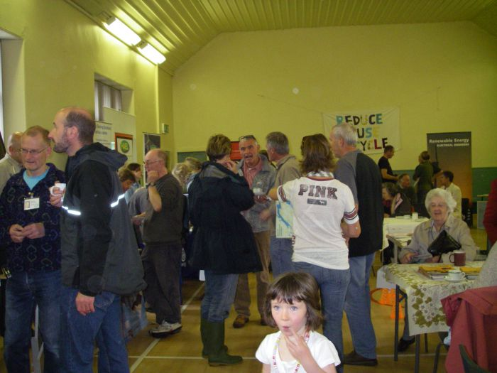 the first Greening Homes & Gardens day, September 2009.