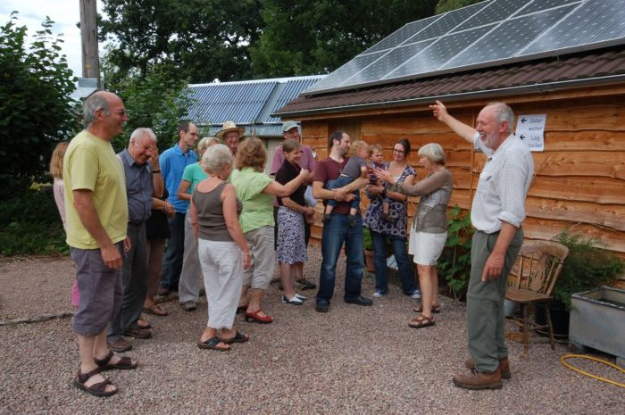 Transition Newent's Open Eco-Homes event in the Forest of Dean.