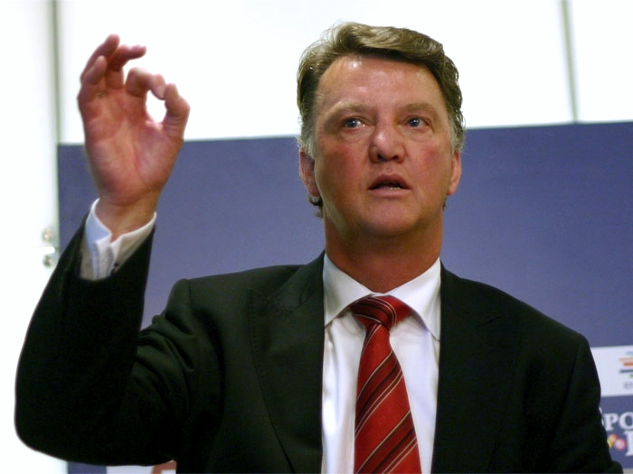 Louis van Gaal (Source: Wikipedia).