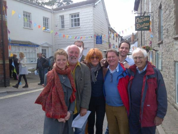 Mary Portas visits Plan B for Hay.