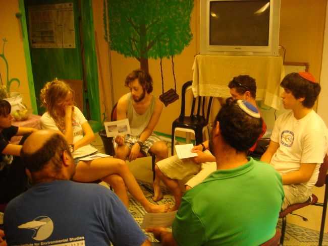 A May-led Transition Training on a kibbutz in Israel.