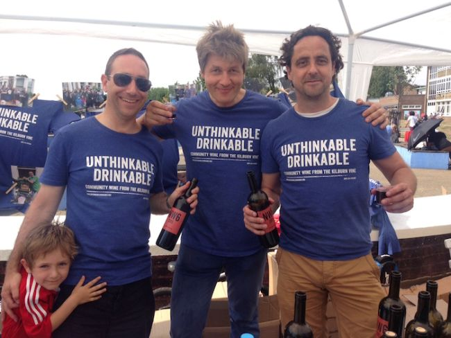Unthinkable Drinkable Founders: Leo Johnson, John Smith, George Latham Gus Latham (in red),