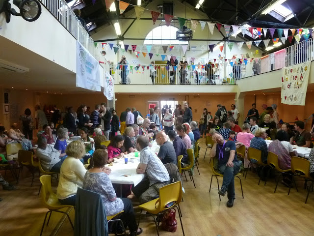 A community meal at last year's TT Tooting Foodival.