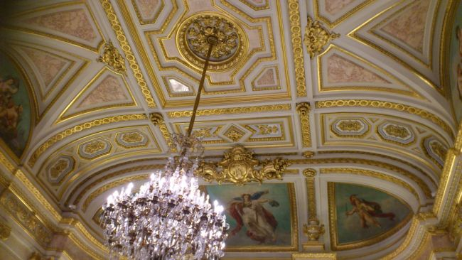 The incredible ceiling in the National Assembly building