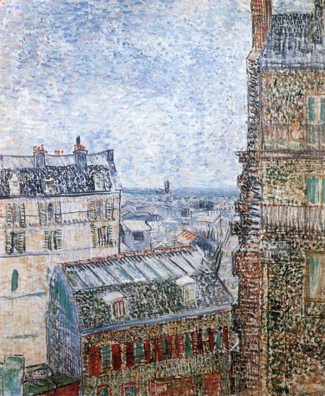 In Paris, colour started to arrive in Van Gogh's work