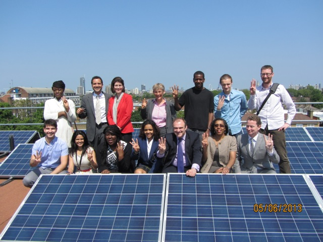 The launch of Brixton Energy Solar 3 with the Secretary of State for Energy and Climate Change, Edward Davey MP, and Minister for Energy & Climate Change, Greg Barker.