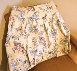 Jen's first skirt, a triumph.