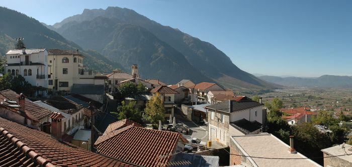The rooftops of Konitsa