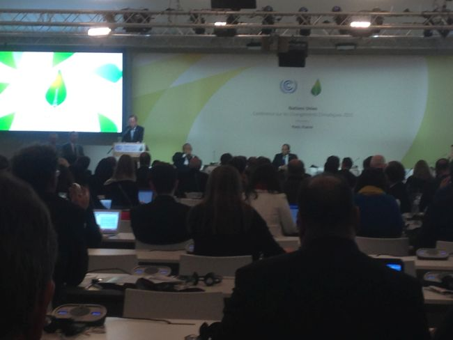 Ban Ki Moon introduces the session on resilience.