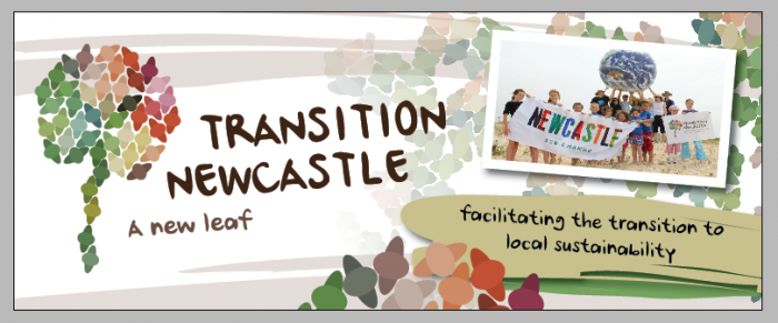 Transition Newcastle banner