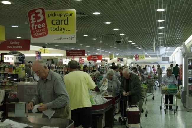 Shopping in Morrisons