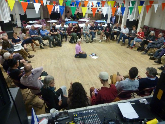 Transition Bristol come together recently to celebrate their work of the last 7 years.