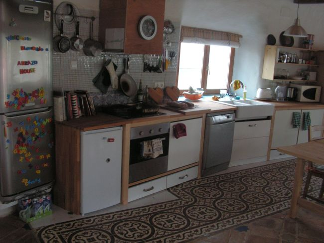 Kitchen of the main house